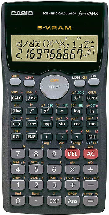 Scientific calculator for students (end 11/1/2019 12:20 am).
